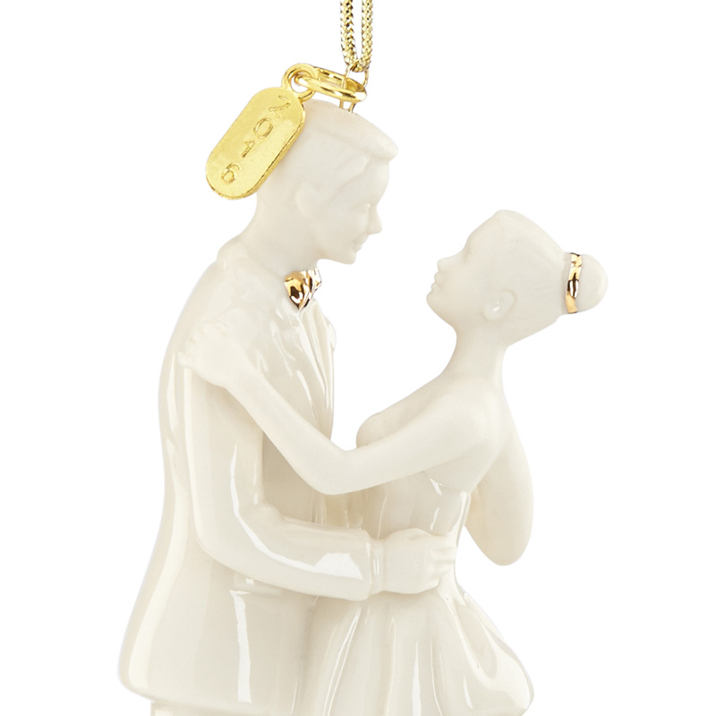 2016 Always and Forever, Bride and Groom | Lenox Christmas Tree Decoration  | Wedding Gift. Our Price $29.95 - Our First Christmas 2016, Always And Forever, Bride And Groom
