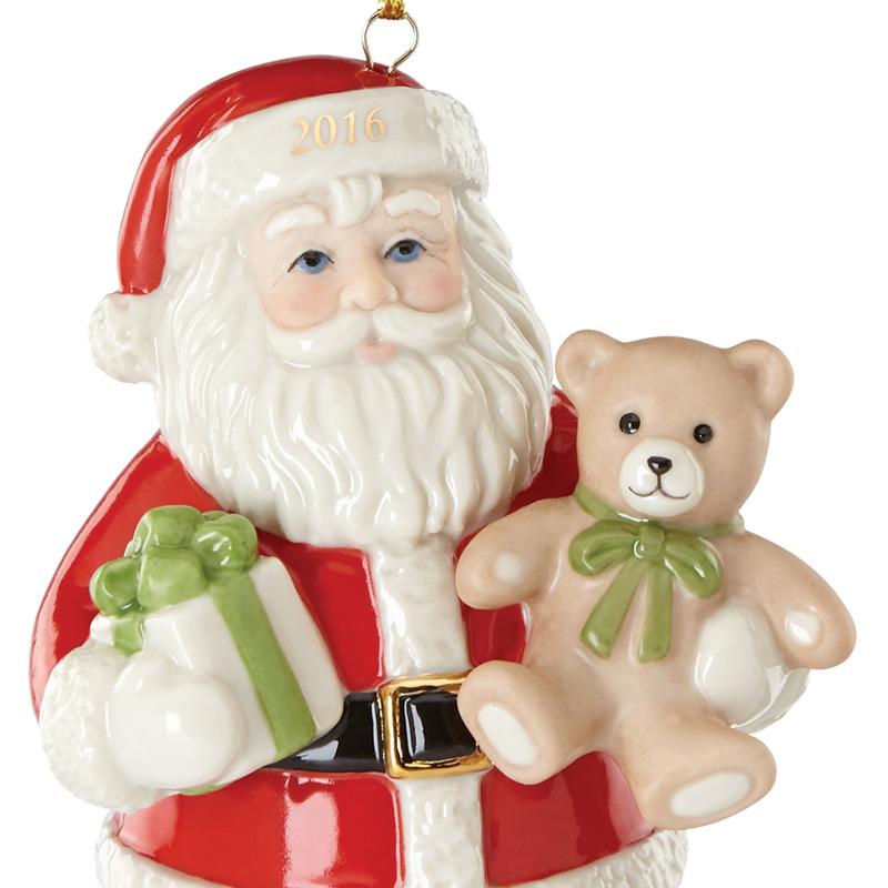 Lenox Good Tidings Santa 2016