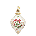 2017 Lenox Holiday Porcelain Christmas Ornament