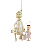 Lenox Grinch Ornament - Grinch's Very Merry Sound Porcelain Christmas Ornament