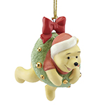 2017 Lenox Sledding Fun with Pooh Porcelain Ornament