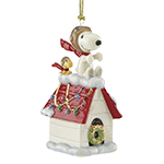 Lenox Snoopy the Flying Ace Porcelain Ornament