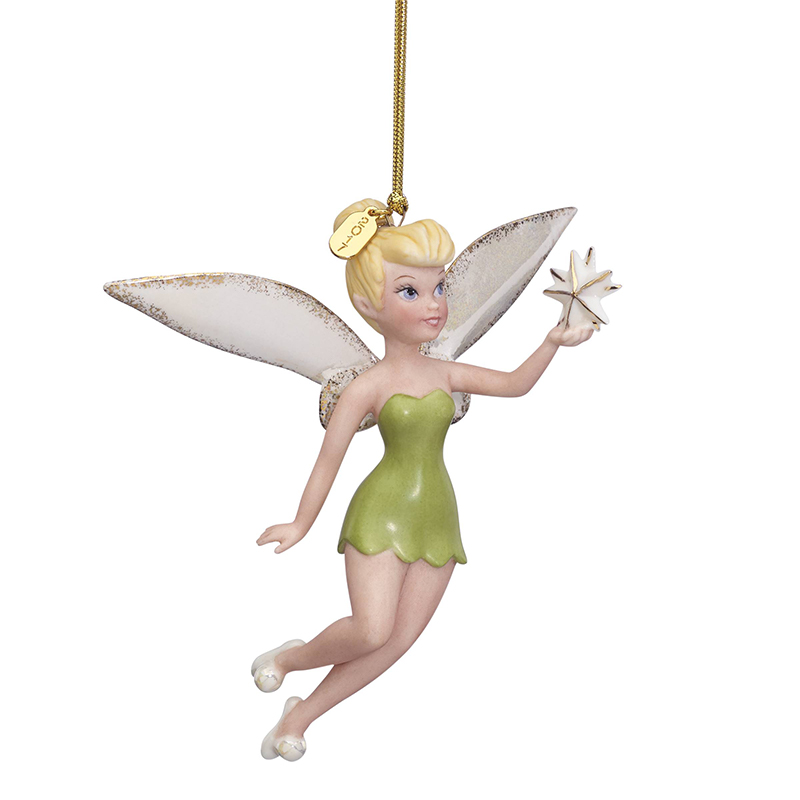 2017 Up and Away Tink Ornament Christmas Ornament | Lenox Christmas Tree Decoration | Snowman Ornament