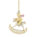 2017 Lenox Winnie The Pooh Baby's First Christmas China Ornament
