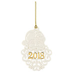 2018 Lenox A Year To Remember Porcelain Ornament