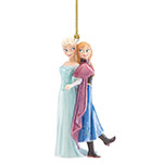 Lenox Elsa and Anna Porcelain Ornaments