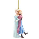Lenox Elsa and Anna Porcelain Ornaments