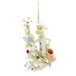 Lenox Grinch Ornament - Greedy Grinch Porcelain Christmas Ornament