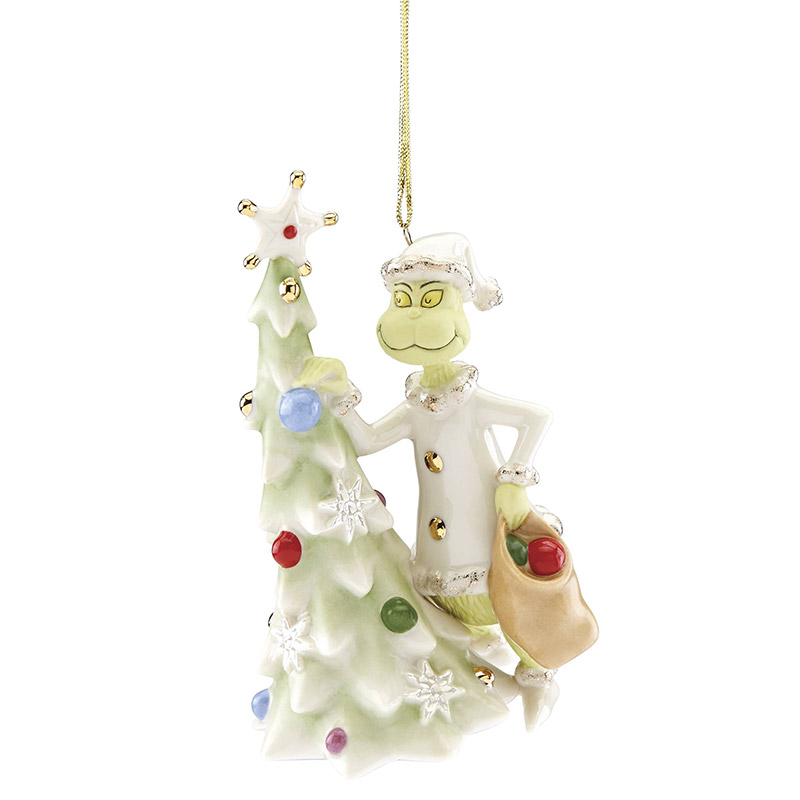 greedy grinch lenox christmas tree decoration grinch ornament - Grinch Christmas Tree Decorations
