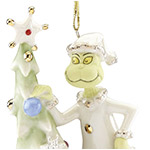 Greedy Grinch | Lenox Christmas Tree Decoration | Grinch Ornament