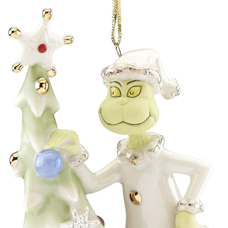 Greedy Grinch   Lenox Christmas Tree Decoration   Grinch Ornament