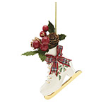 Lenox Porcelain 2018 Holiday Skate Ornament