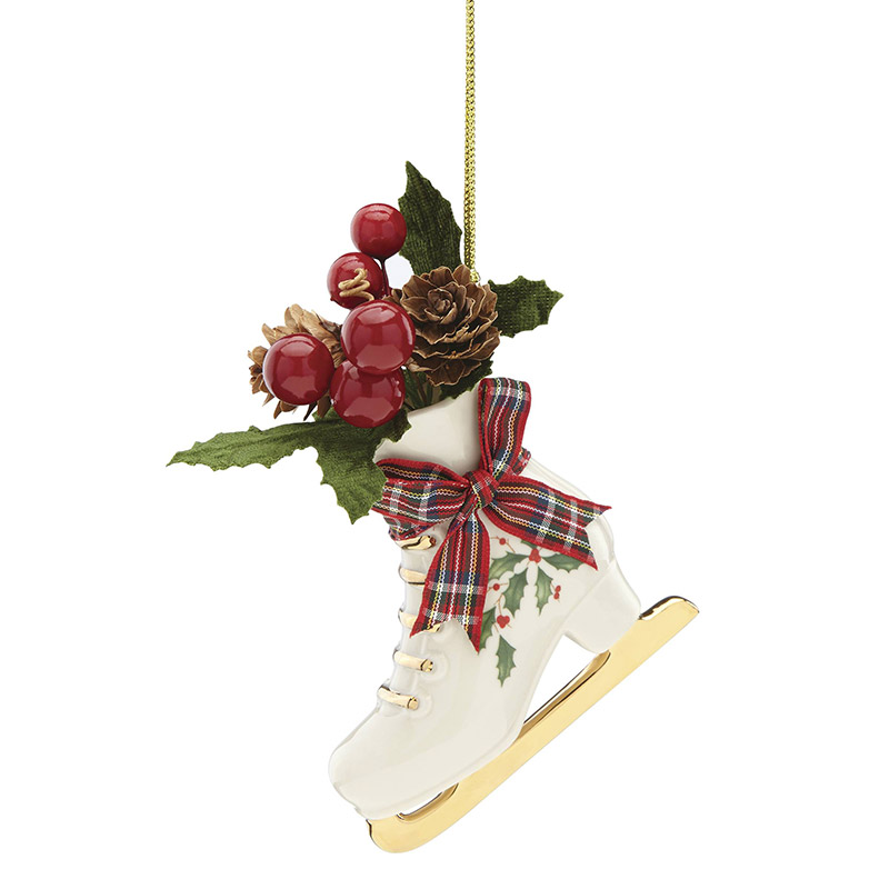 2018 holiday skate ornament christmas ornament lenox christmas tree decoration snowman ornament - Lenox Christmas Decorations