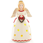 Lenox Merry and Light Lit Angel figurine