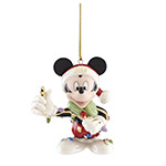 2018 Lenox Merry and Bright Mickey Mouse Christmas Ornament