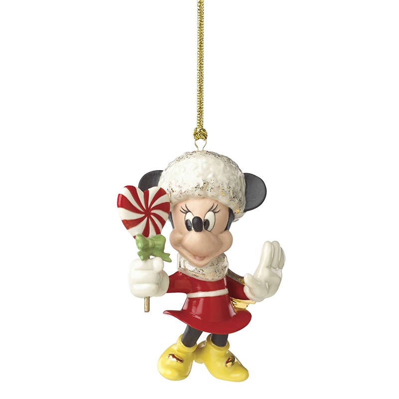 sweet heart minnie mouse lenox christmas tree decoration our first christmas - Minnie Mouse Christmas Ornament