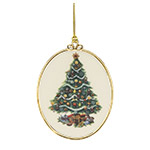 Lenox Christmas Trees Around the World, USA Ornament