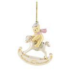 2018 Lenox Baby's First Christmas Winnie the Pooh Porcelain Ornament