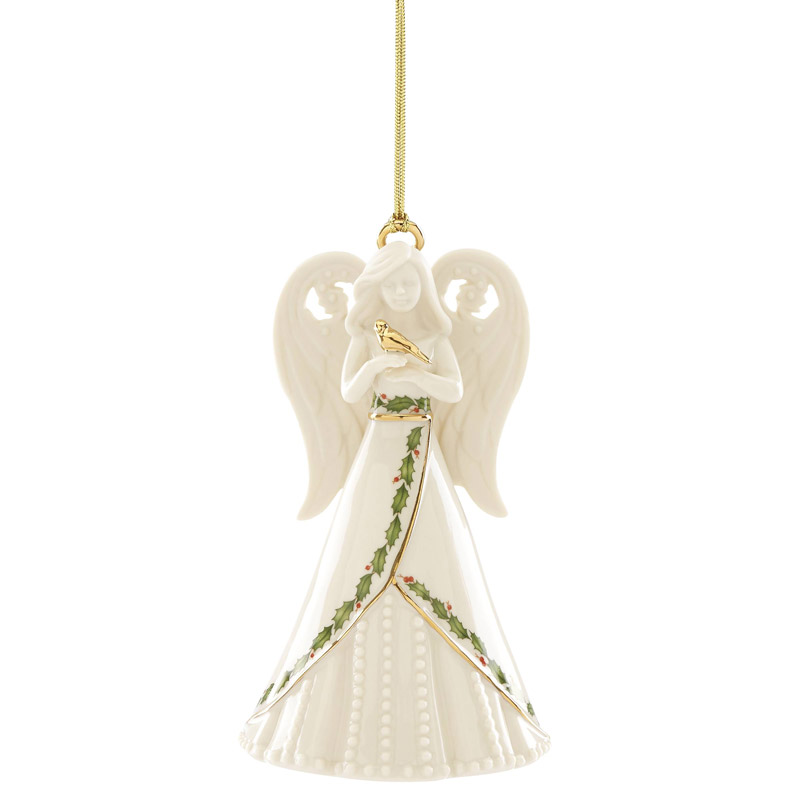 2019 Dated Christmas Ornaments 2019 Holiday Angel Bell Ornament | Lenox Christmas Ornaments