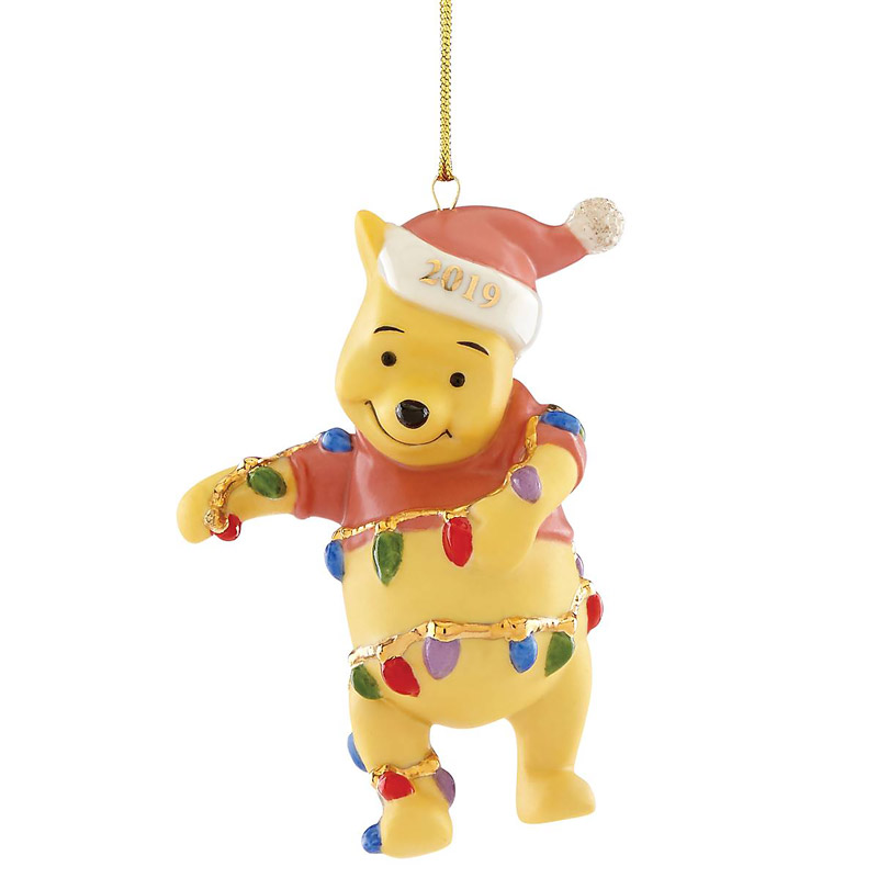 Pooh's Bright Ideas Ornament 2019 | Lenox Christmas Ornaments