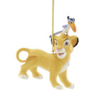 2019 Lenox Simba and Zazu Porcelain Ornament