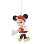 2019 Lenox Skate Away Minnie Porcelain Ornament