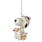 2019 Lenox Snoopy's Dog Treats Porcelain Ornament
