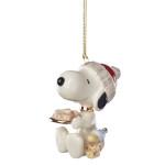 2019 Lenox Snoopy's Dog Treats Porcelain Ornament