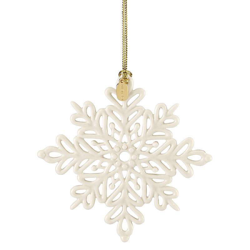 Christmas Snowflakes.2019 Snow Fantasies Snowflakeporcelain Christmas Ornament By Lenox