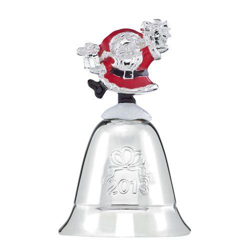 Lenox annual musical bell silver ornament