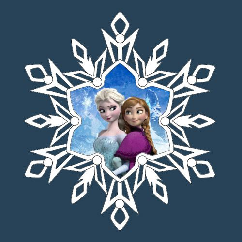 Disney Frozen Snowflake Pattern Related Keywords & Suggestions ...