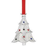 2016 Lenox Jeweled Tree Silverplate Ornament