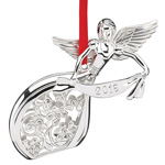 2016 Lenox Annual Silver Angel Christmas Ornament