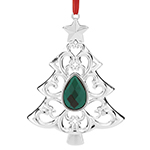 Lenox Ornament - Gemmed Christmas tree