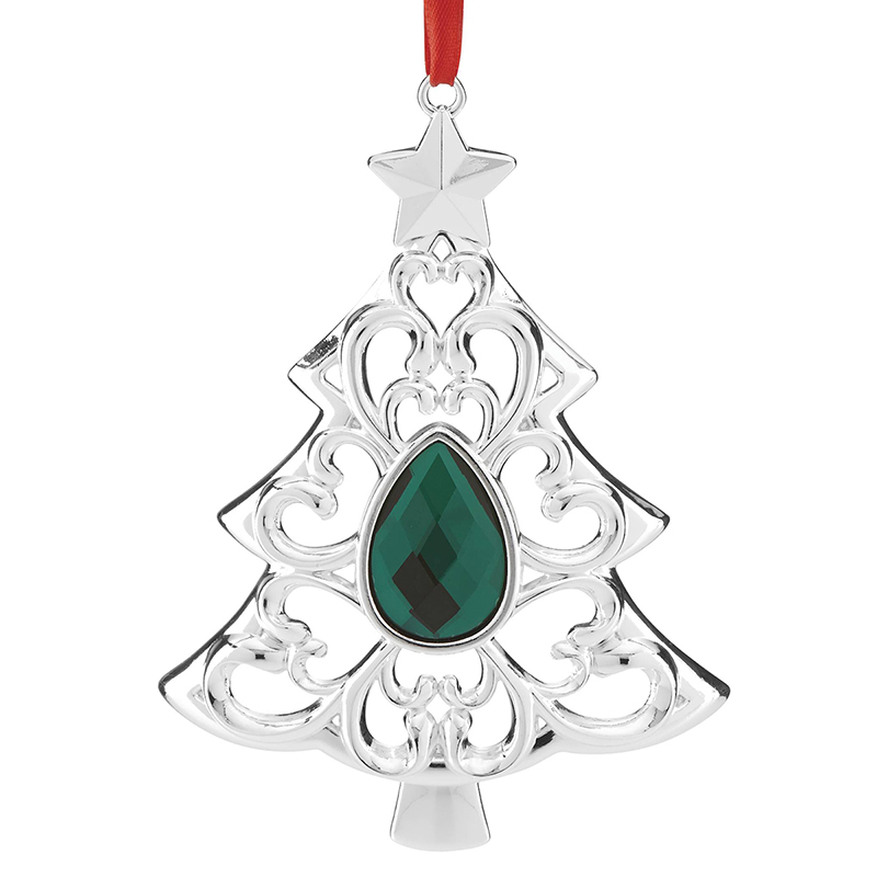 gemmed tree lenox christmas ornament - Lenox Christmas Decorations