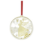 Lenox Angel Stamped Metal Ornament