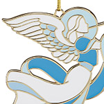 2018 Heavenly Angel Ornament Christmas Ornament | Lenox Christmas Tree Decoration | Christmas Annual
