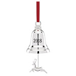2018 Lenox Annual Silver Bell Christmas Ornament
