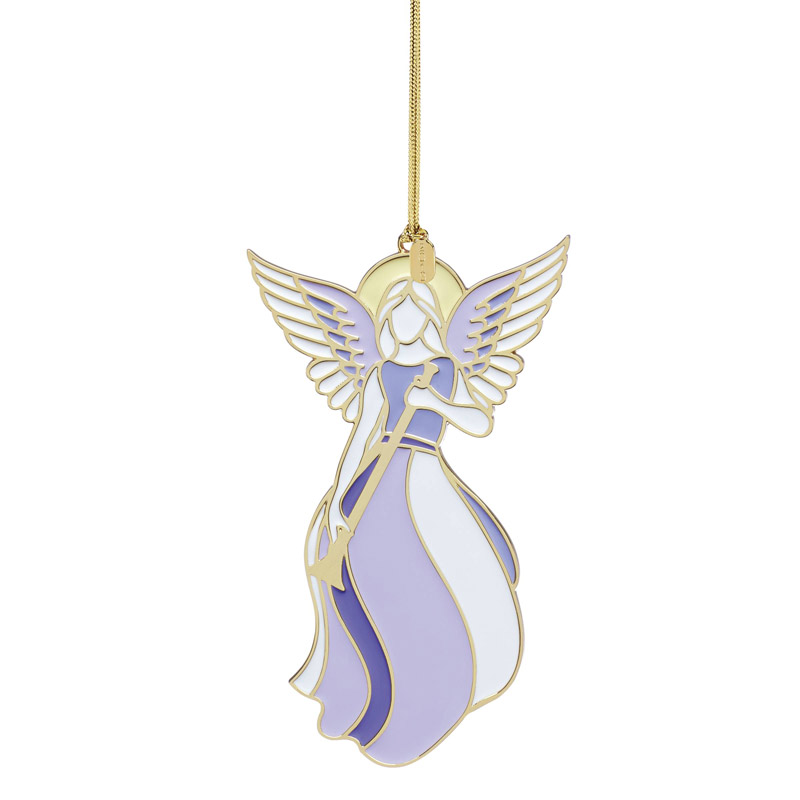 Angel Ornaments For Christmas Tree.2019 Lenox Heavenly Angel Ornamentenamel Christmas Ornament By Lenox