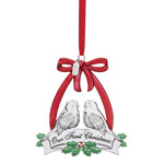 2019 Lenox Our First Christmas Silverplate ornament