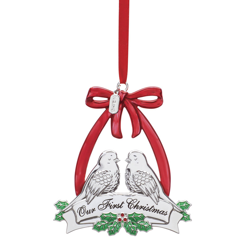 Our First Christmas Doves | Lenox Christmas Tree Decoration | Our First Christmas