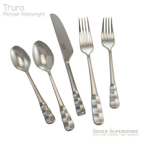 Truro Platinum 18 10 Stainless Flatware Pattern By Michael
