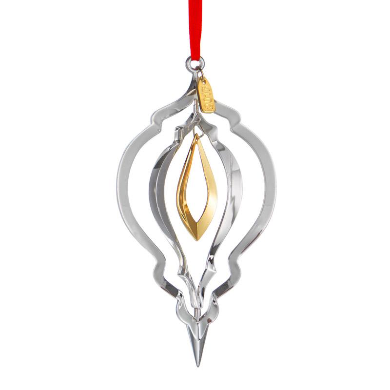 Nambe Annual Ornament 2017 Christmas Ornament Silver