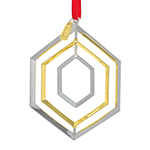 2019 Nambe Annual Silverplate Christmas Ornament