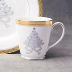 Noritake Crestwood Gold Holiday Accent Mug by Noritake