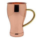 Soda Fountain Cup Copper Moscow Mule Mug by Old Dutch International