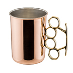 Brass Knuckle Moscow Mule Mug by Old Dutch International