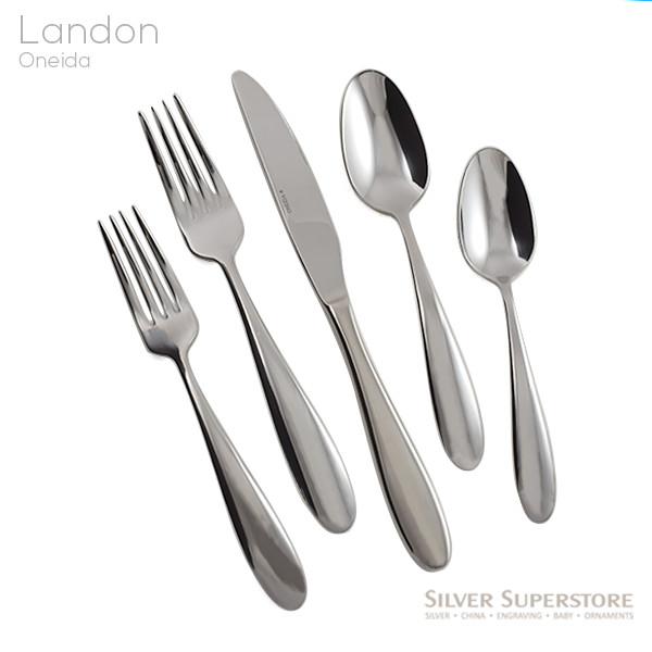 Landon By Oneida Stainless Flatware For Less