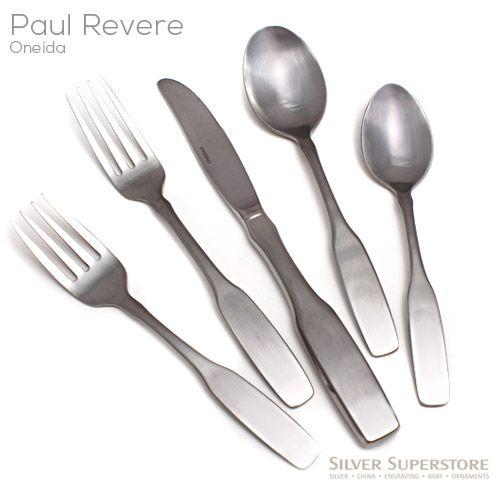 Community Oneida Paul Revere Stainless Flatware Your Choice