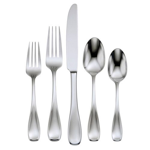 oneida voss stainless steel flatware 5pc place setting